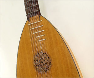 ❌ SOLD ❌ Albert J Litto 7 Course Renaissance Lute, 1965