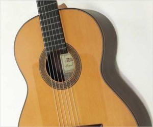 Alhambra 10FPCarlos Pinana Flamenco Negra Guitar