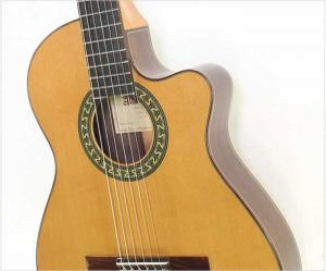 Alhambra 5PCT E2 Thinline Crossover Classical Guitar - The Twelfth Fret