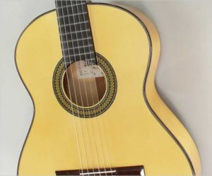 Alhambra 7fc Flamenco Blanco Guitar - The Twelfth Fret