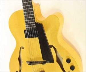 ❌SOLD❌ American Archtop Unger American Dream Archtop Guitar Natural, 2002