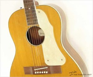 Arthur Hansel Steel String Guitar Natural, 1952 - The Twelfth Fret