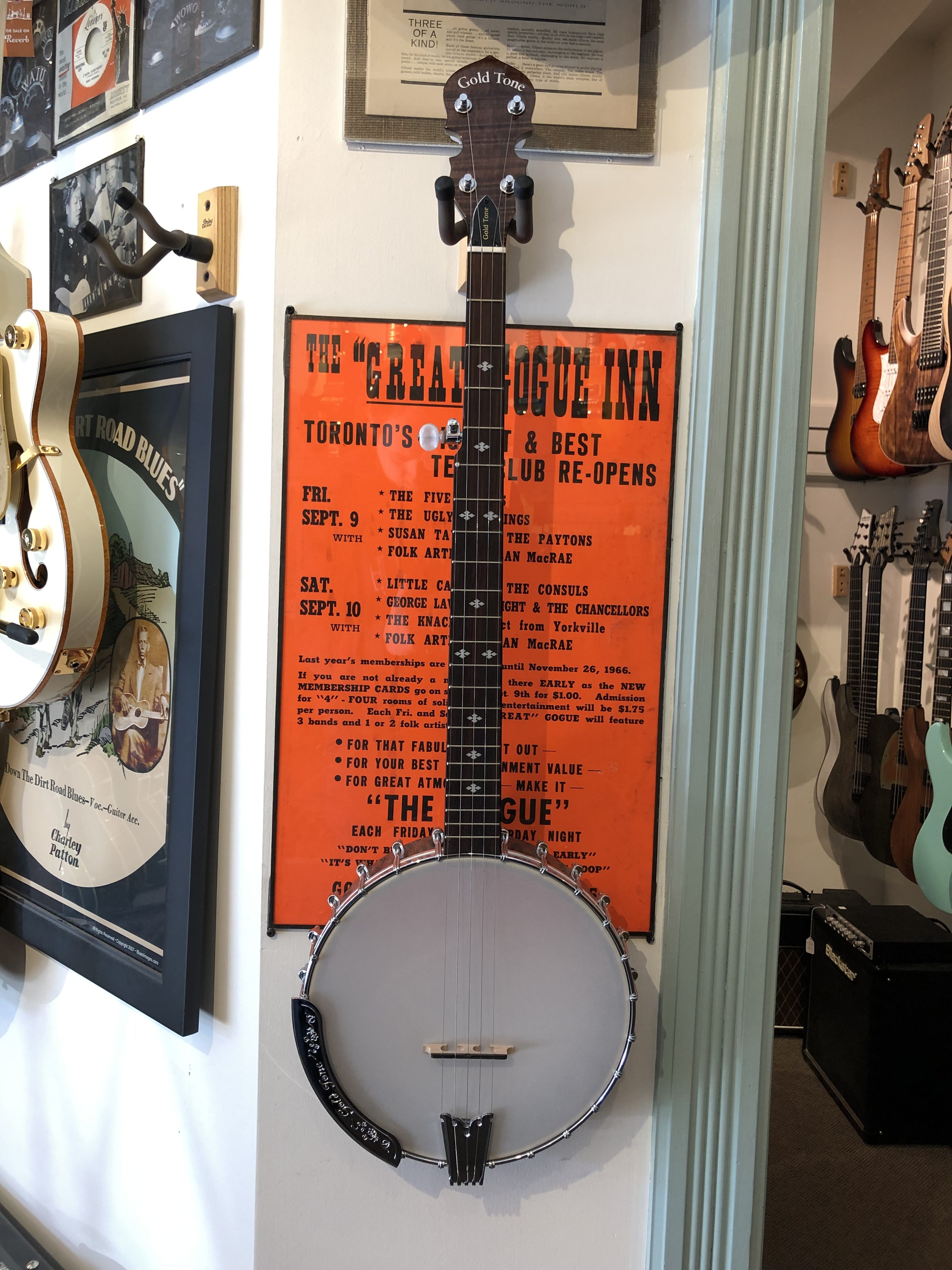 Gold Tone Cripple Creek CC-100 Plus Banjo - SALE! - The Twelfth Fret