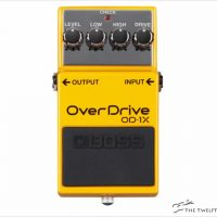 BOSS OD-1X Overdrive Pedal - The Twelfth Fret