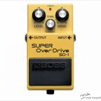 BOSS SD-1 Super Overdrive Pedal - The Twelfth Fret