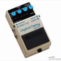 BOSS DD-3T Digital Delay Pedal - The Twelfth Fret