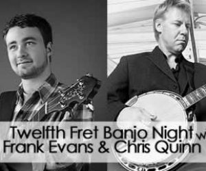 Banjo Night At The Twelfth Fret!  Monday March 20 2017