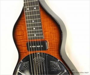 Beard Road-O-Phonic Lap Steel Sunburst 2014 - The Twelfth Fret