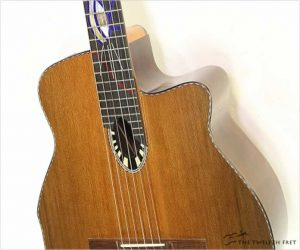 ⚌Reduced‼  Beardsell 9C Cutaway Nylon String Guitar, 2009