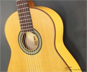 Beneteau Flamenco Cedar and Cypress Guitar, 1999 - The Twelfth Fret