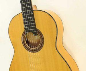 Bert Kwakkel Flamenco Blanca Guitar, 2007