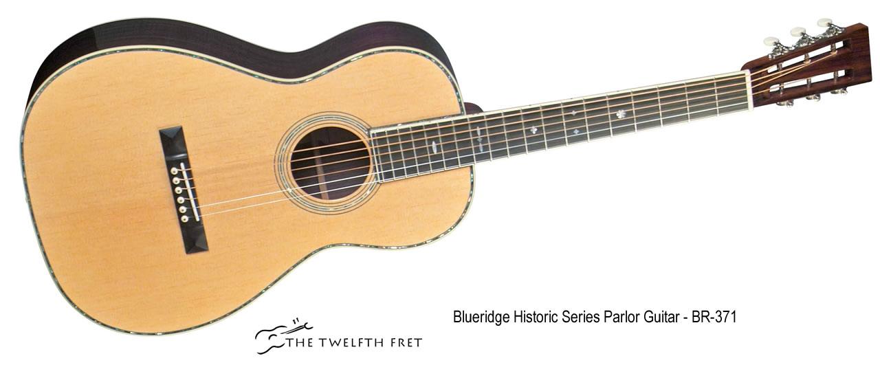 Blueridge Historic Series Parlor Guitar - BR-371 - The Twelfth Fret