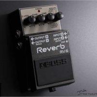 Boss RV-6 Reverb Pedal - The Twelfth Fret