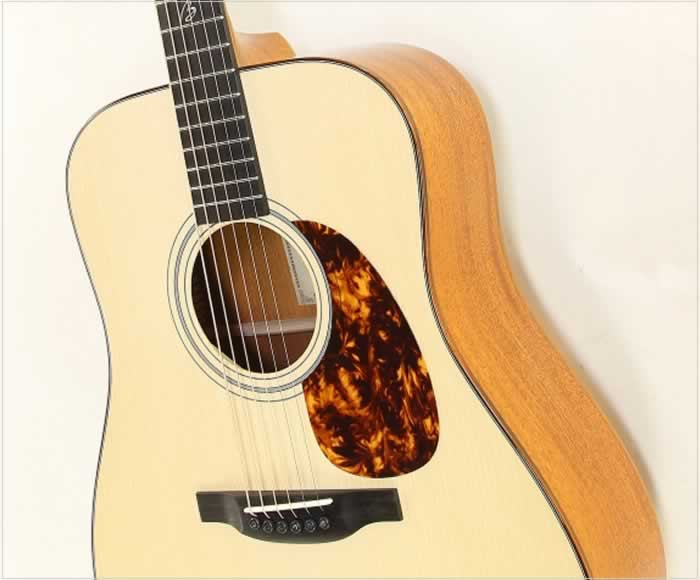 Boucher Signature Series Richard Bennett Mahogany Dreadnought - The Twelfth Fret