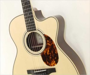 Boucher Studio Goose SG-51 OM Hybrid Cutaway Rosewood 14 Fret Guitar - The Twelfth Fret
