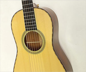SOLD!  Bourgeois Piccolo Parlor Guitar, No. 1 of 15, 2010