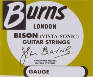 Burns Electric Guitar Strings by Newtone
