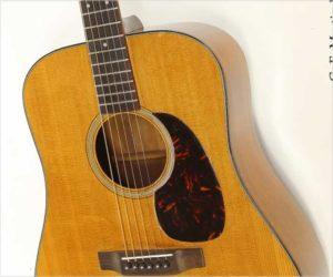 ❌SOLD❌  C. F. Martin D-18 Dreadnought Steel String Guitar, 1965