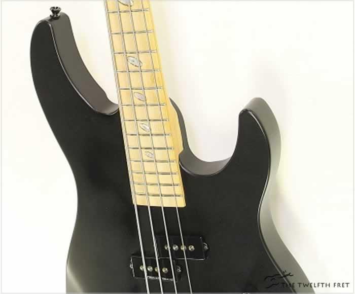 Caparison Dellinger Bass Mike LePond Custom Prototype Black, 2009 - The Twelfth Fret
