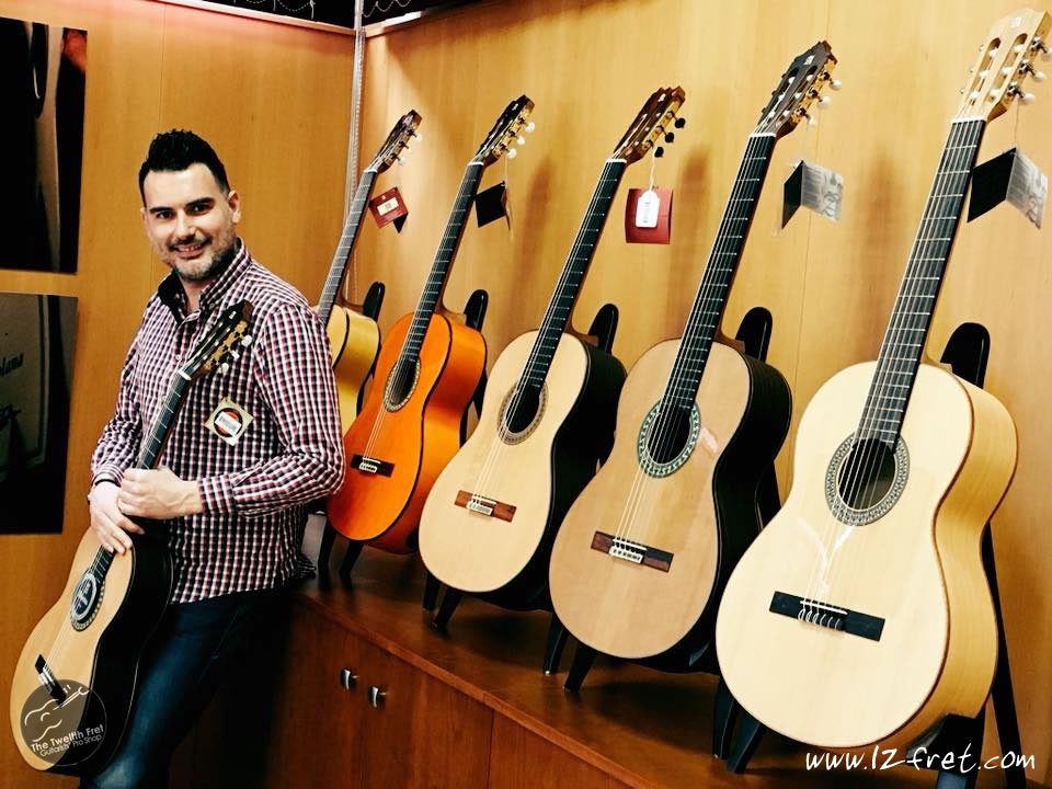 Carlos Piñana Performs for Qudud Flamenco Canada - The Twelfth Fret
