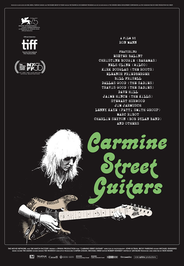 Documentary Carmine Street Guitars - The Twelfth Fret