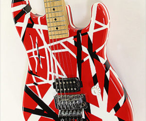 SOLD!!! Charvel EVH Art Series XB 1H Solidbody Electric Guitar, 2006
