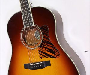 SOLD!  Collings CJ MH A SS SB Short Scale Steel String Guitar Sunburst, 2008