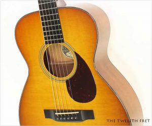 Collings 01 Steel String Sunburst Guitar, 2014 - The Twelfth Fret