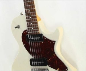 Collings 360 LTM Offset Body Electric Warm White, 2017