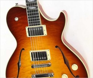 Collings SoCo Deluxe Thinline Electric Sunburst, 2009