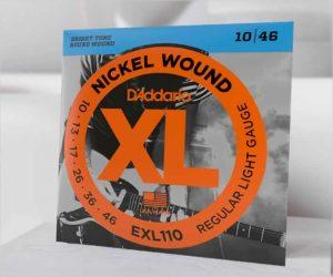 D'Addario XL Nickel Electric Guitar Strings