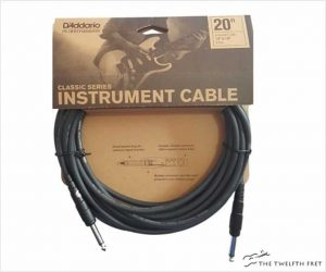 D'Addario Instrument Cable Classic Series - Straight Ends