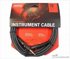 D'Addario Instrument Cable Custom Series