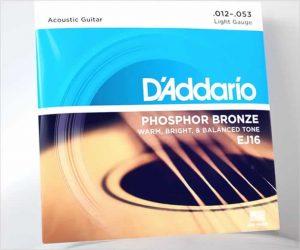 D'Addario Phosphor Bronze Acoustic Guitar Strings