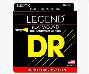 DR Legend Flatwound Bass Guitar Strings