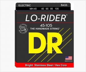 DR Lo-Rider MH-45 Bass Guitar Strings