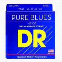 DR PURE BLUES PR-45 Bass Guitar Strings - Shop The Twelfth Fret