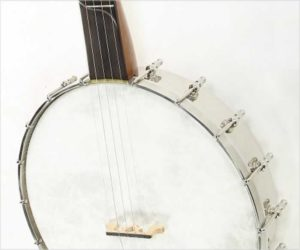 Dave Mills 5 String Openback Banjo with Frailing Scoop, 2018
