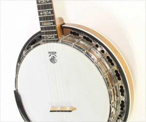 Deering Deluxe Mahogany Banjo, 2011
