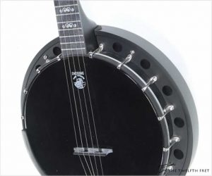 ❌SOLD❌  Deering Goodtime Blackgrass 5-String Banjo Black, 2019