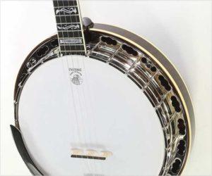 ❌ Sold ❌ Deering Tenbrooks Saratoga Star 5-String Banjo, 2004