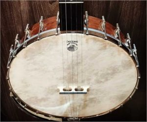 Deering Vega Old Tyme Wonder Open Back Banjo