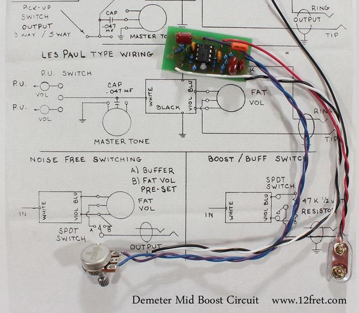 Demeter MB-2 Midboost - Fat Control - The Twelfth Fret