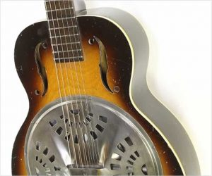 Dobro Model 27 or 25 Sunburst, 1934
