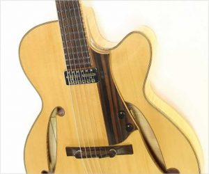 Douglas Harrison CJ 16 Archtop Guitar, 2019 - With New Video!