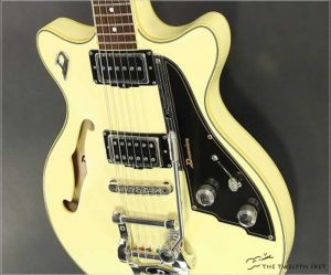 Duesenberg Fullerton TV Thinline Archtop Electric, 2011 - The Twelfth Fret