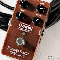 Dunlop MXR Bass Fuzz Deluxe Pedal - The Twelfth Fret