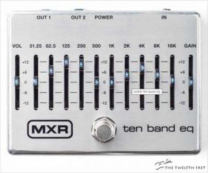 Dunlop MXR Ten Band EQ Pedal