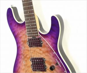 ❌SOLD❌ EBMM Steve Morse Y2D Hardtail Purple Sunset, 2015