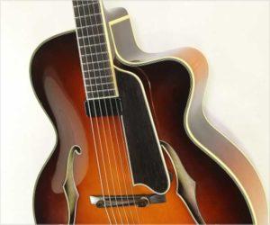 ❌SOLD❌ Eastman AR805CE Cutaway Archtop Guitar, Sunburst 2006